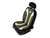 Volkswagen VW Polo three door (2009 onwards) :Walser Wilderness seat cushion, single, green, 11227