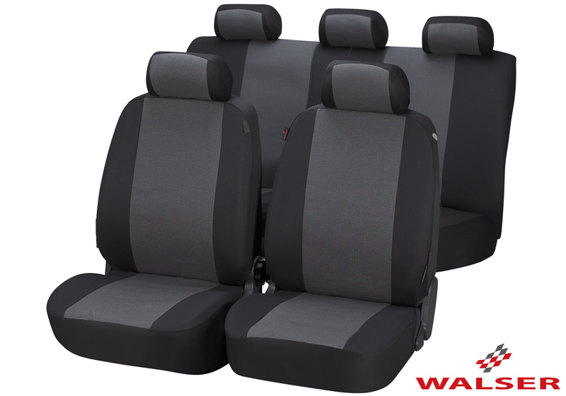 Toyota Land Cruiser Colorado five door (2000 to 2003):Walser jacquard car seat covers, Pineto, 12435