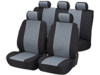 Mazda 3 five door (2009 onwards) :Walser jacquard seat covers, Positano, 12436