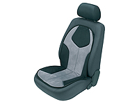 Volkswagen VW Polo three door (2005 to 2009) :Walser CAPELLI seat cushion, single, grey, 14176