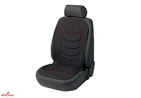 Seat Ibiza five door (2008 onwards) :Walser Elegance Plus seat cushion, single, black, 14275