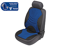Mitsubishi Lancer EVO VIII (2004 to 2005) :Walser SIRKOS Aerotex seat cushion, single, blue black, 17500