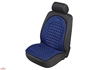 Volkswagen VW Polo three door (2005 to 2009) :Walser NOPPI seat cushion, single, blue, 14188