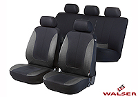Toyota Carina E estate (1992 to 1998) :Walser seat covers, full set, Norfolk black and grey, 11936