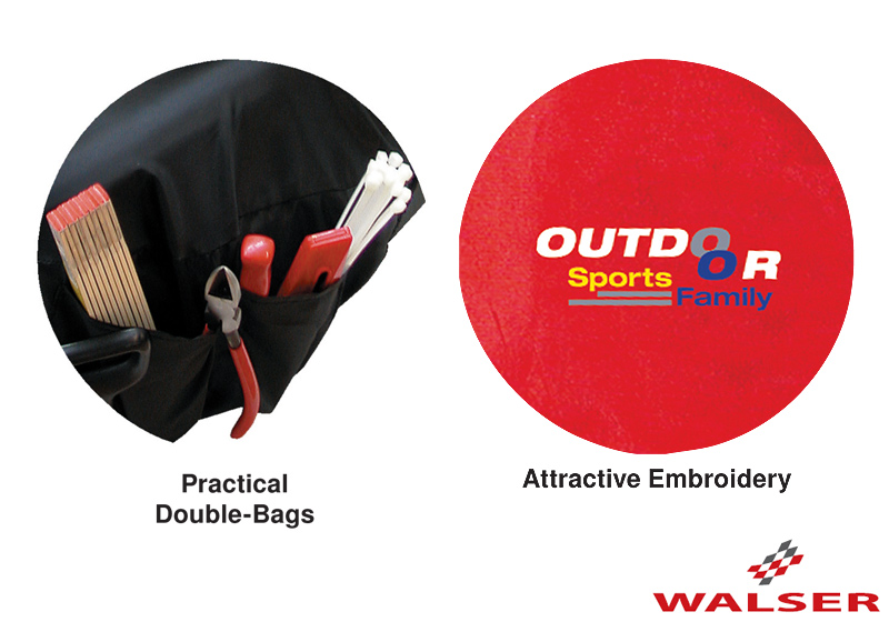 Walser car seat covers Outdoor Sports & Family red - WL12062