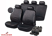 Peugeot 206 SW estate (2002 to 2007) :Walser seat covers, Sussex black, 11955