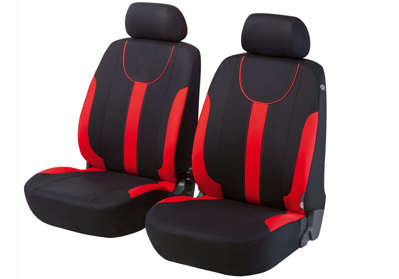 Honda Civic five door (2017 onwards):Walser seat covers, front seats only, Dorset red, 11962