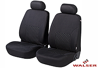 Mercedes Benz S Class coupe (1991 to 1999) :Walser jacquard seat covers, front seats only, Dotspot, 11938