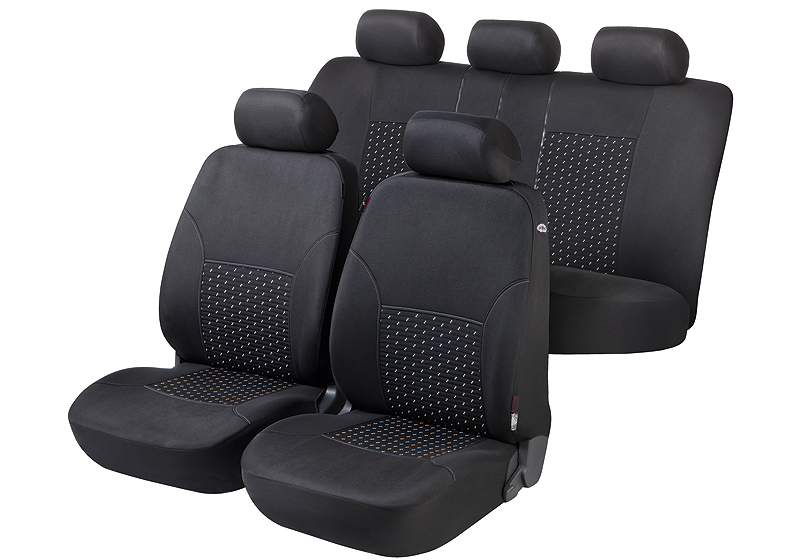 Walser velours car seat covers, Dotspot, 11939