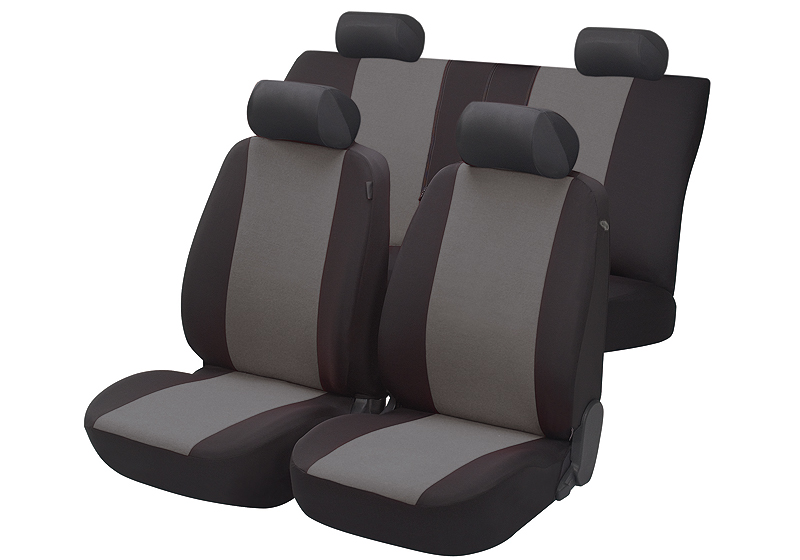 Toyota Land Cruiser Colorado five door (2000 to 2003):Walser seat covers, full set Flash anthracite, 12474