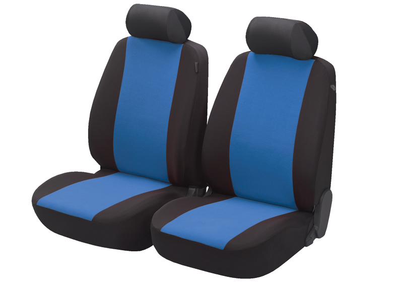 Honda Civic five door (2017 onwards):Walser seat covers, front seats only, Flash blue, 12547