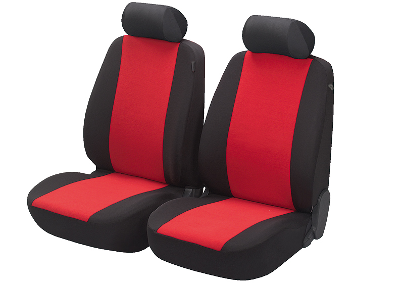Honda Civic five door (2017 onwards):Walser seat covers, front seats only, Flash red, 12548