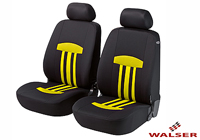 Lancia Delta five door (2008 onwards) :Walser seat covers, front seats only, Kent yellow, 11812
