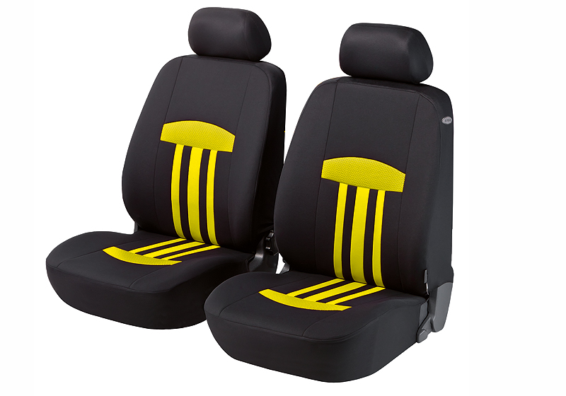 Walser velours seat covers, front seats only, Kent yellow, 11812