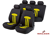 Mercedes Benz S Class coupe (1991 to 1999) :Walser seat covers, full set, Kent yellow, 11815