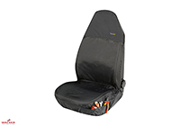 Toyota Yaris three door (1999 to 2006) :Walser car seat covers Outdoor Sports & Family black- WL12132