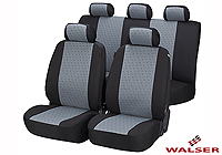 Ford Escort three door (1995 to 1999) :Walser jacquard seat covers, full set, Positano, 12436