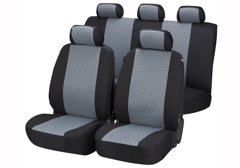 Toyota Land Cruiser Colorado five door (2000 to 2003):Walser jacquard seat covers, full set, Positano, 12436