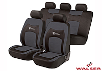 Mercedes Benz S Class coupe (1991 to 1999) :Walser seat covers, full set, RS Racing grey, 11820