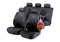 Mercedes Benz S Class coupe (1991 to 1999) :Walser ZIPP-IT seat covers, Elegance, black, 11776