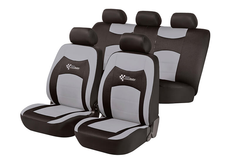 Mazda Xedos 9 (1992 to 2000):Walser seat covers, full set, RS Racing grey, 11820