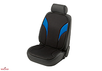 Seat Ibiza five door (2008 onwards) :Walser Aminis seat cushion, single, blue/black, 17526