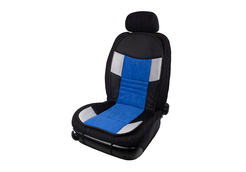 Volvo S60 four door saloon (2010 to 2019):Walser seat cushion, single, blue, 11666