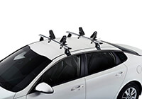 :CRUZ Rafter kayak carrier with roof bars