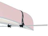 :Thule Canadian style canoe and small boat carrier no. TU579 (Square bars only)