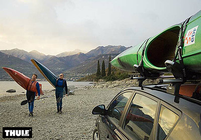 Thule Hull A Port Pro Canoe Kayak Carrier No 837