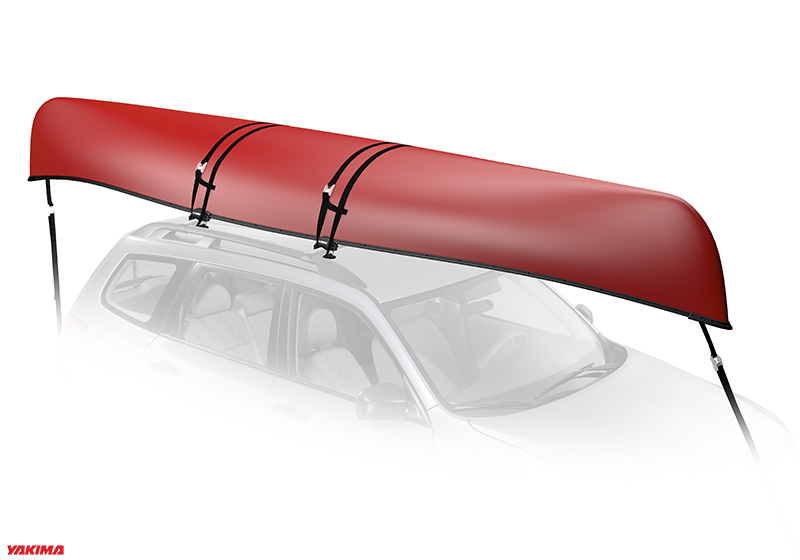 :Yakima KeelOver canoe carrier with roof bars