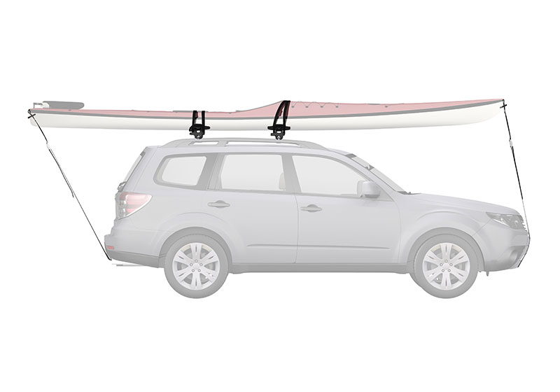 :Yakima SweetRoll kayak carrier with roof bars