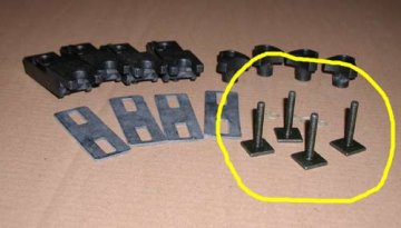 Thule Power Click T Track Aerobar Roof Box Adapters For