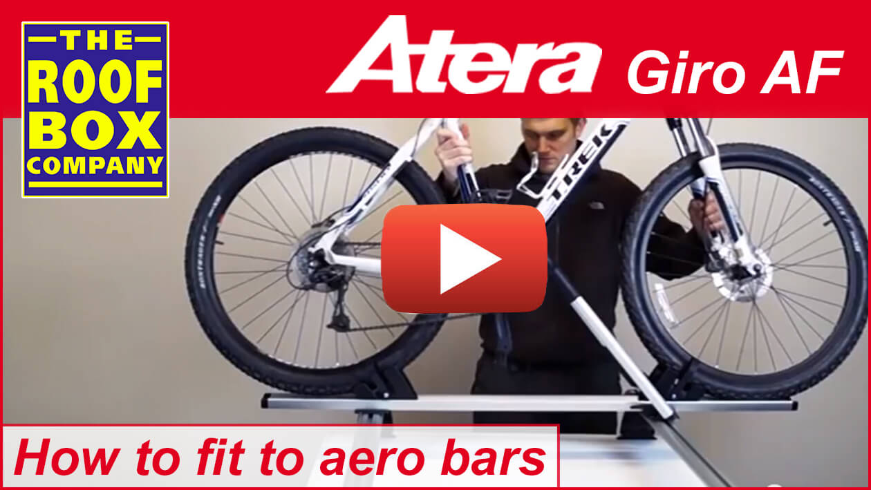 Atera GIRO AF – How to fit to aero bars