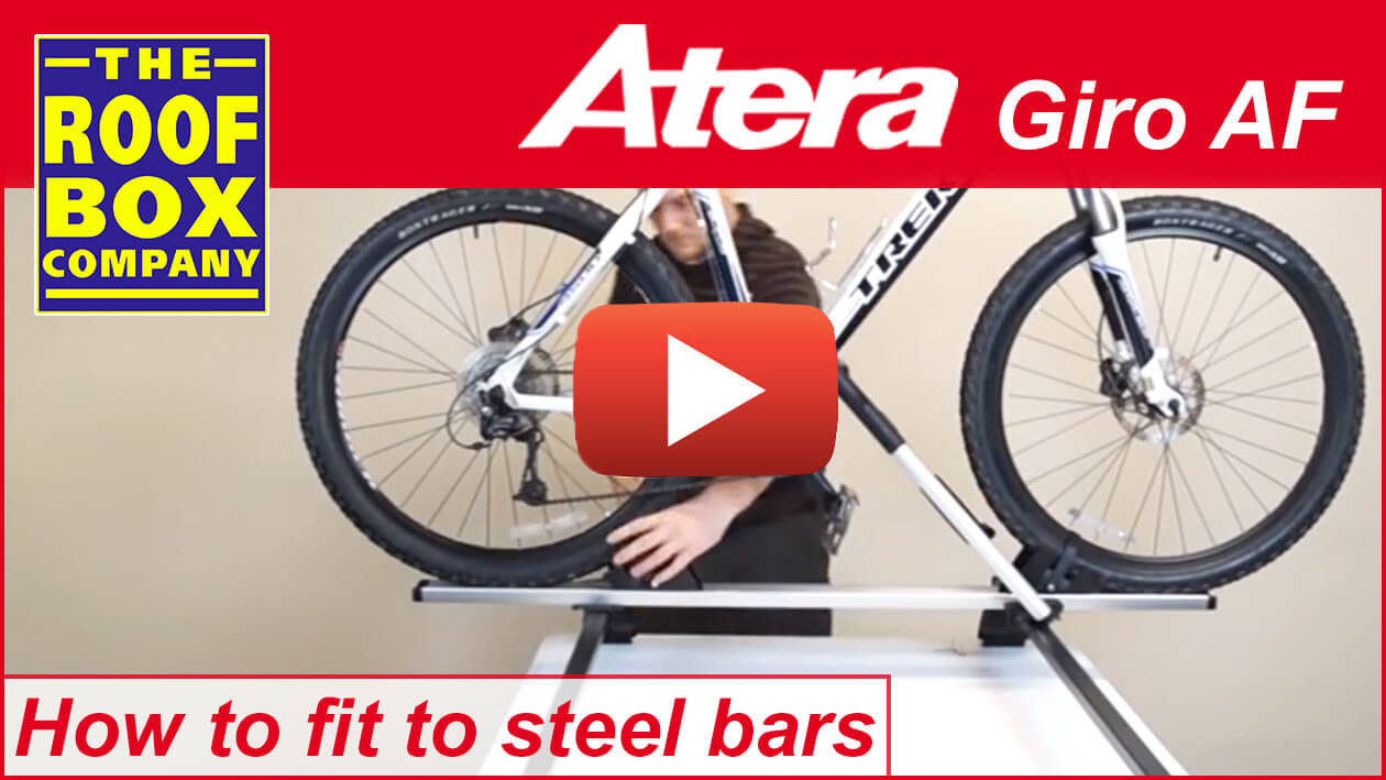 Atera GIRO AF – How to fit to steel bars