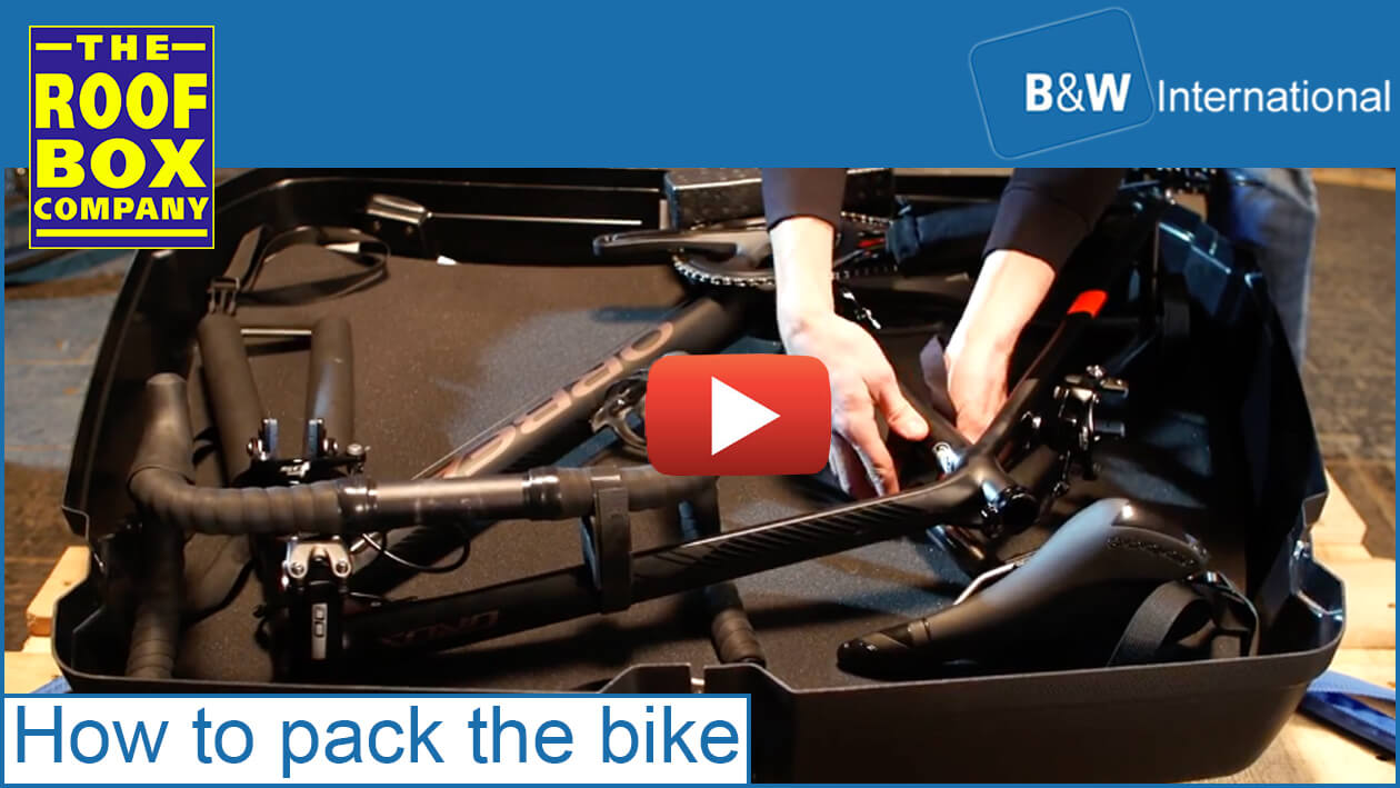B&W Bike Box ii - how to pack the bike