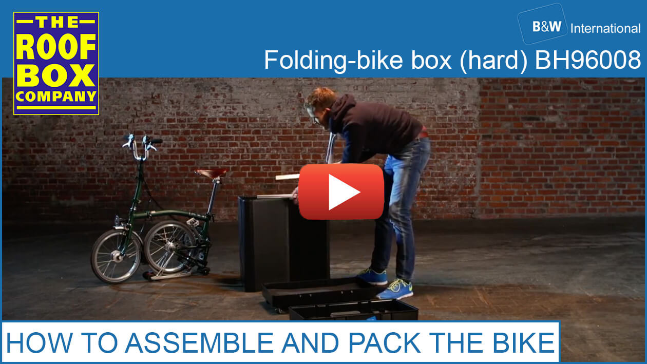 B&W International folding-bike box (hard) - HOW TO ASSEMBLE AND PACK THE BIKE