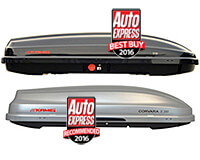 KAMEI's roof boxes win the Auto Express Best Buy award for the seventh time