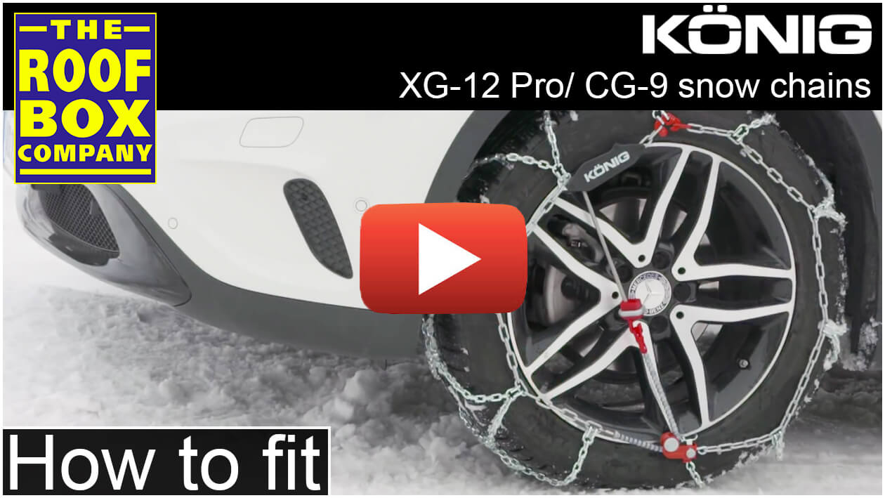 König snow chains XG 12 Pro & CG 9 - How to fit