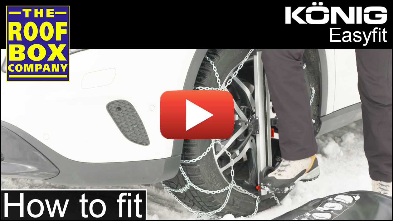 KONIG Easyfit snow chains - How to assemble