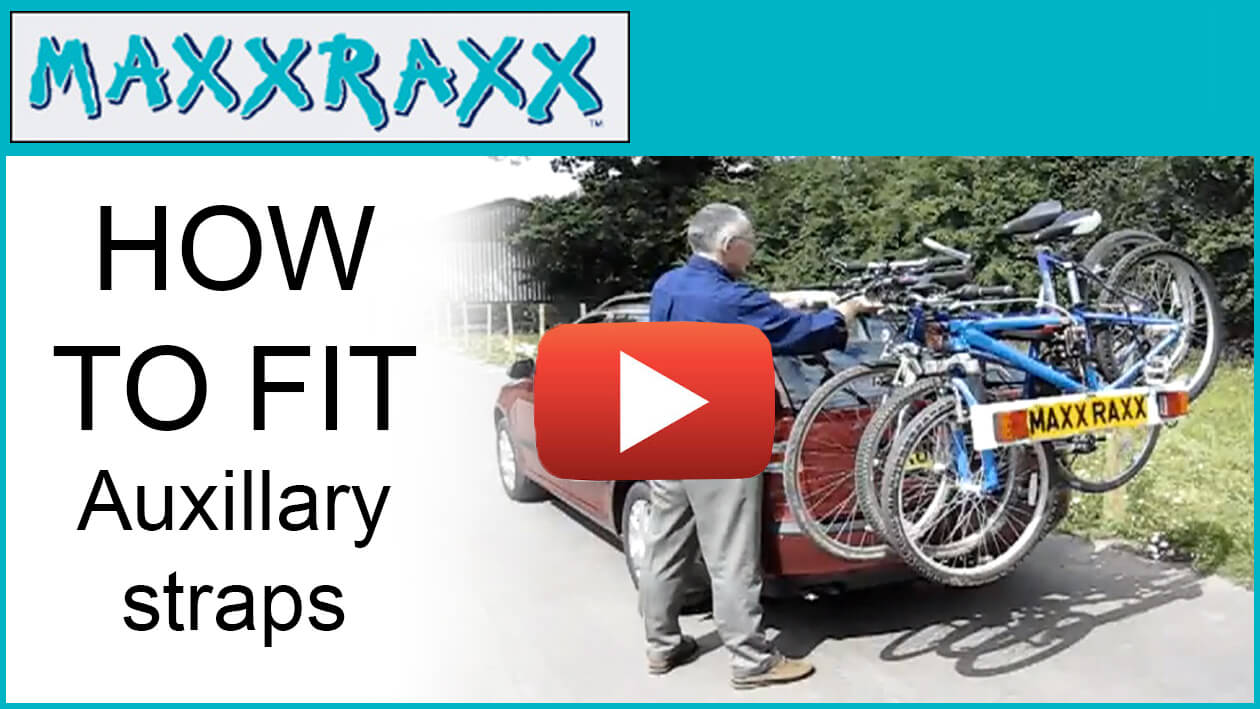 Maxxraxx auxillary straps - How to fit