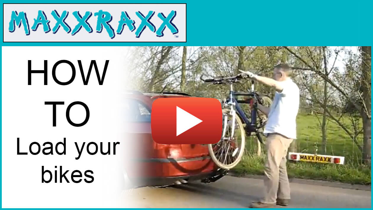 Maxxraxx premier bike rack - How to fit