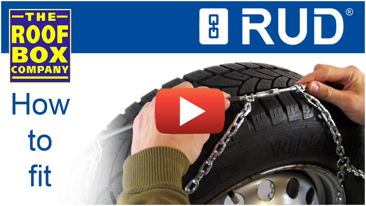 Rud Compact Grip Chains Pair Size 4040 No 4716962