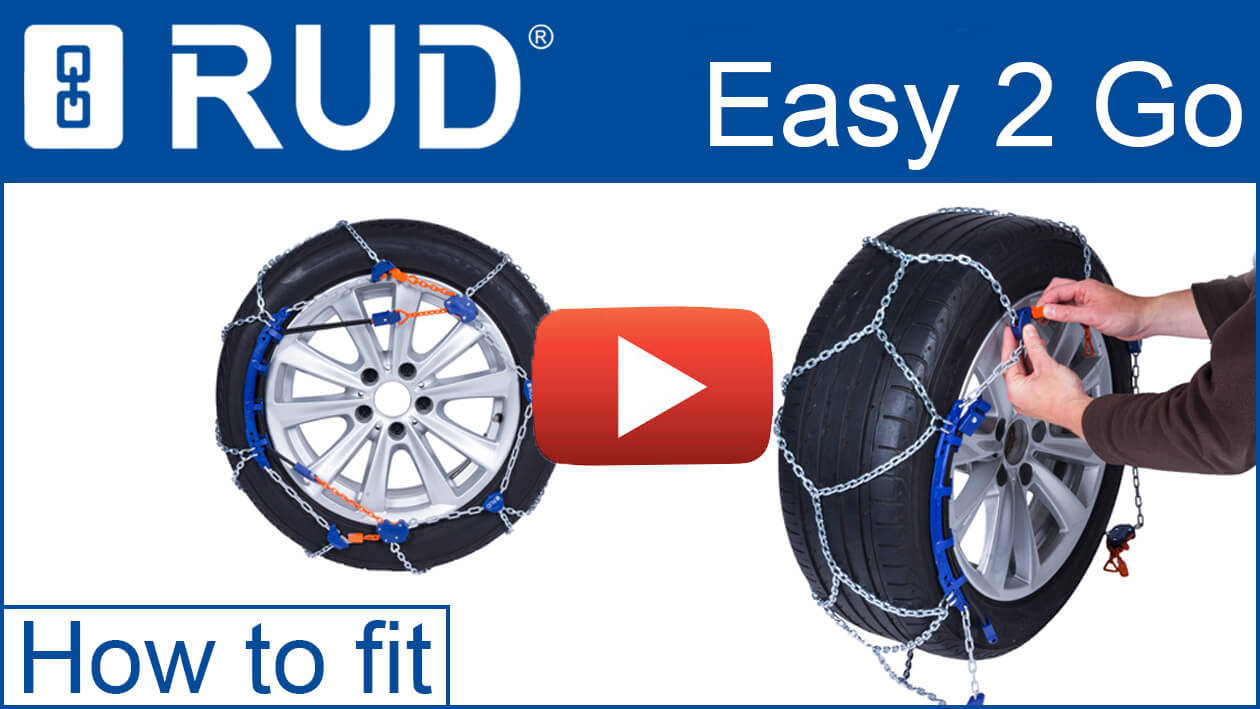 RUD Easy2Go snow chain - How to fit