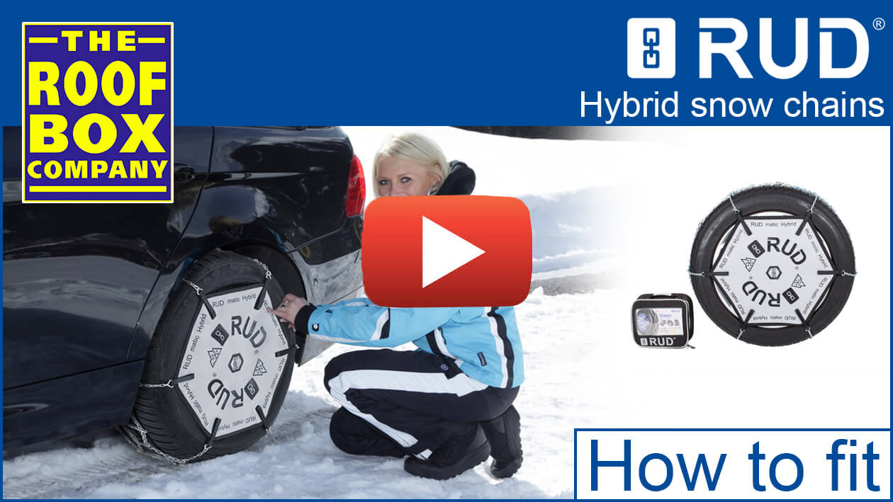 RUD Hybrid snow chains