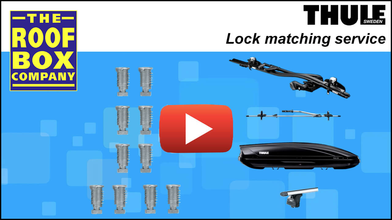 The Roof Box Company's Thule lock matching service
