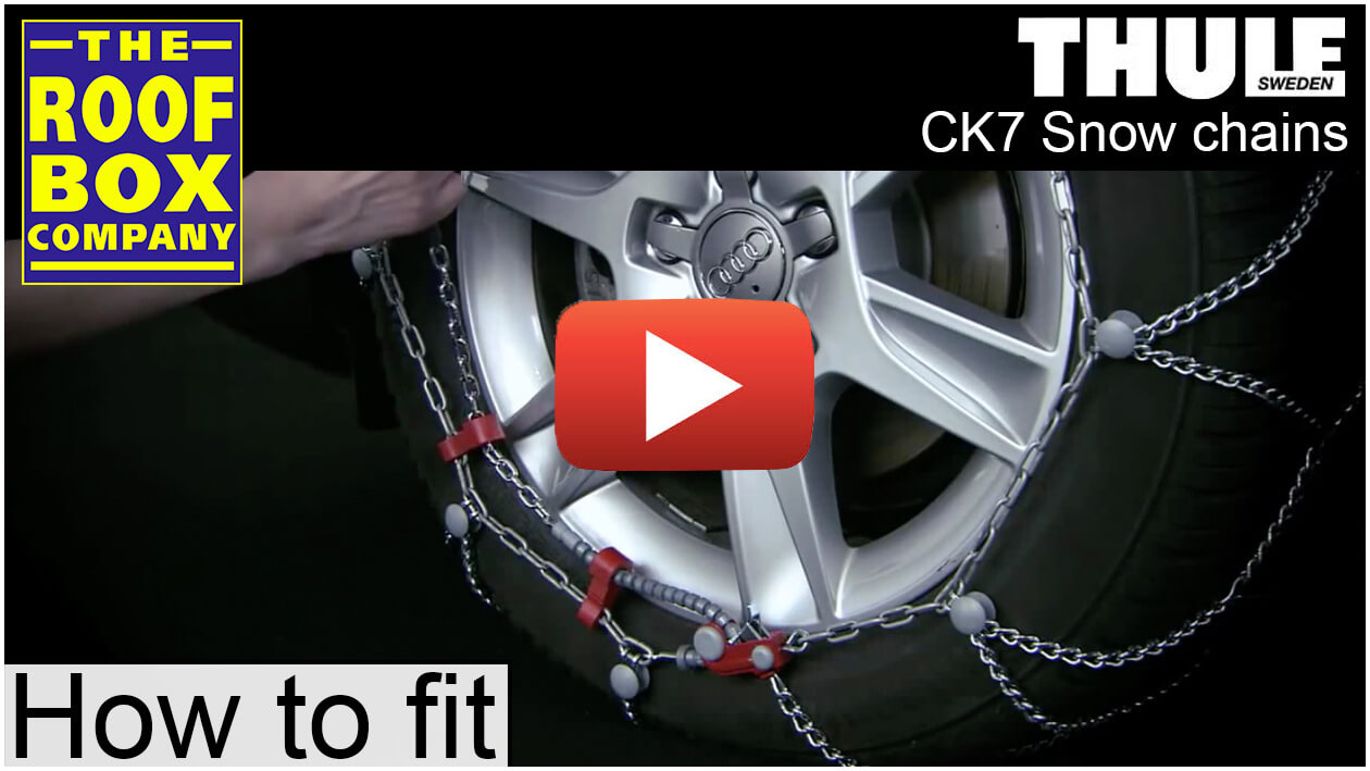 Thule CK7 Snow Chains