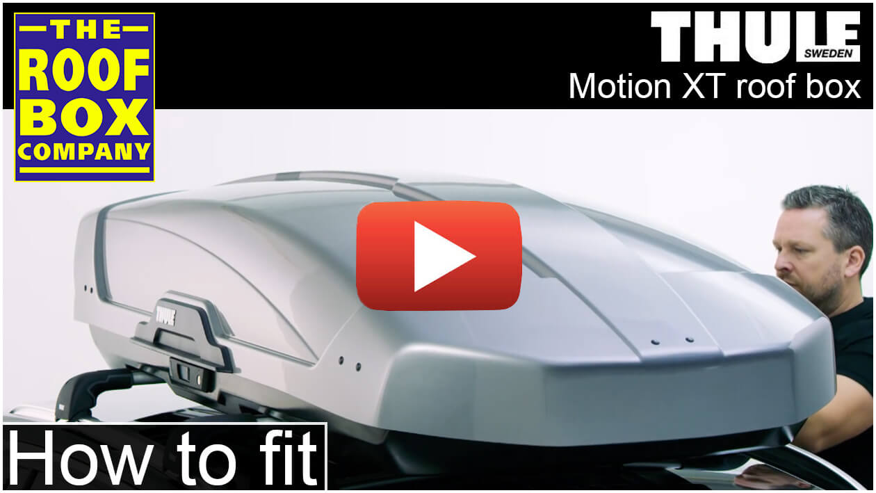 Thule Motion XT roof box - how to fit