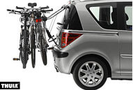 Example of a Rear door mounting 'Hang On' bike carrier