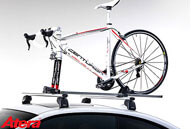 Example of a top quality roof mounted bike carrier
